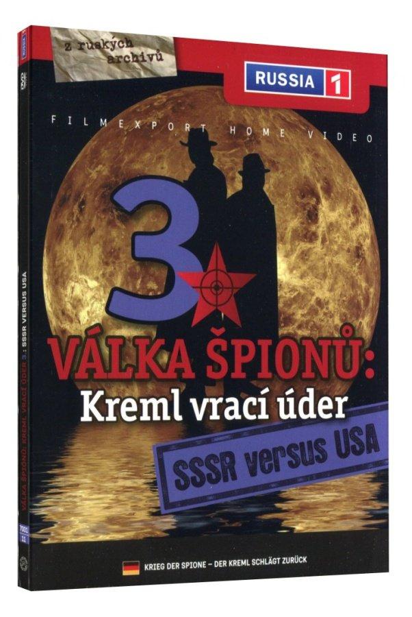 Válka špiónů: Kreml vrací úder 3 - SSSR versus USA (DVD)