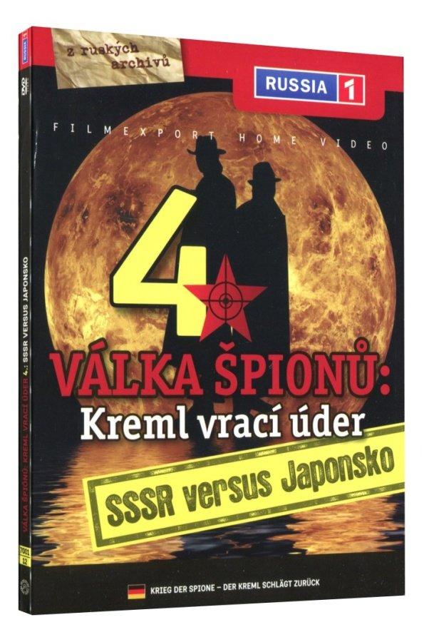 Válka špiónů: Kreml vrací úder 4 - SSSR versus Japonsko (DVD)