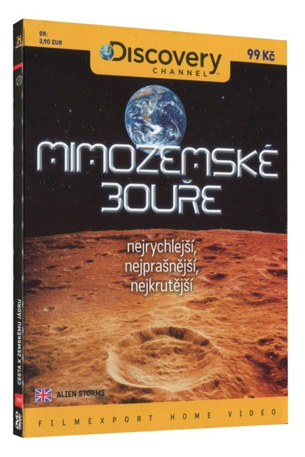 Mimozemské bouře (DVD)