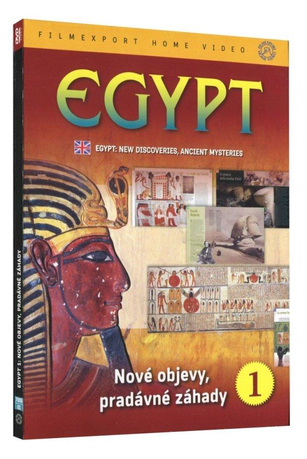 Egypt 1: Nové objevy, pradávné záhady (DVD)