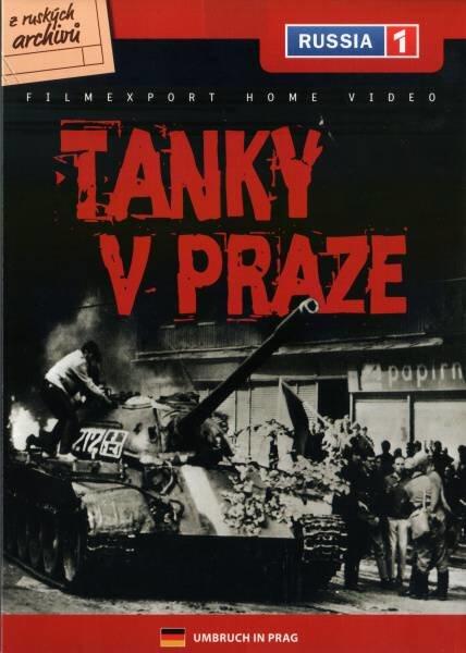 Tanky v Praze (DVD) (papírový obal)