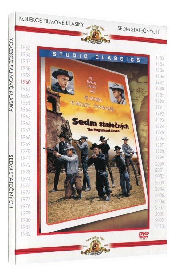 Sedm statečných (DVD) - kolekce filmové klasiky