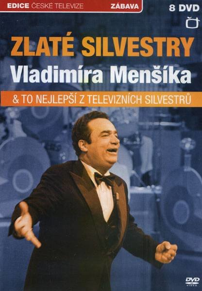 Zlaté Silvestry Vladimíra Menšíka + bonus To nejlepší z televizních Silvestrů - 8xDVD
