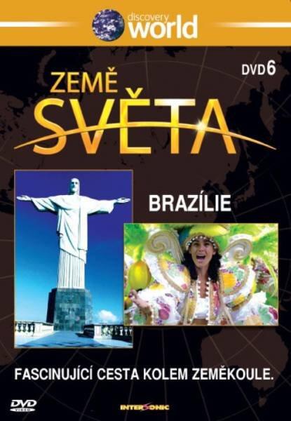 Země světa - DVD 6 - Brazílie (papírový obal)