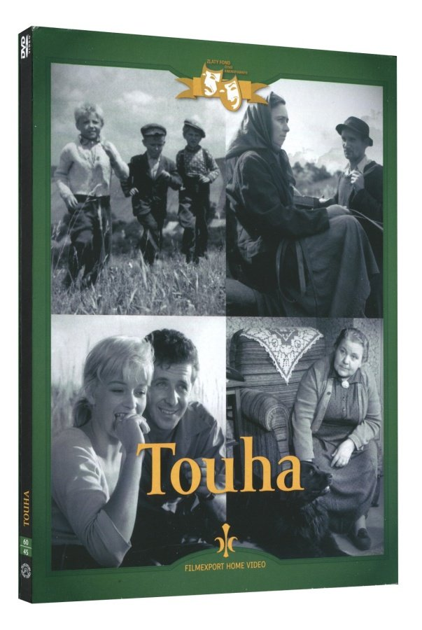 Touha (DVD) - digipack