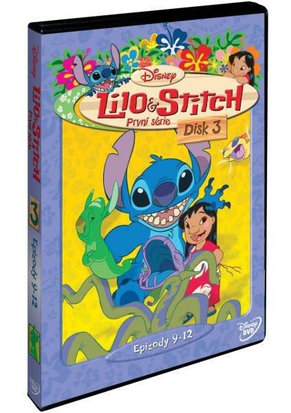 Lilo a Stitch 1. sezóna - Disk 3 (DVD)