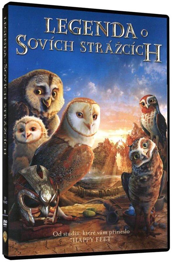 Legenda o sovích strážcích (DVD)