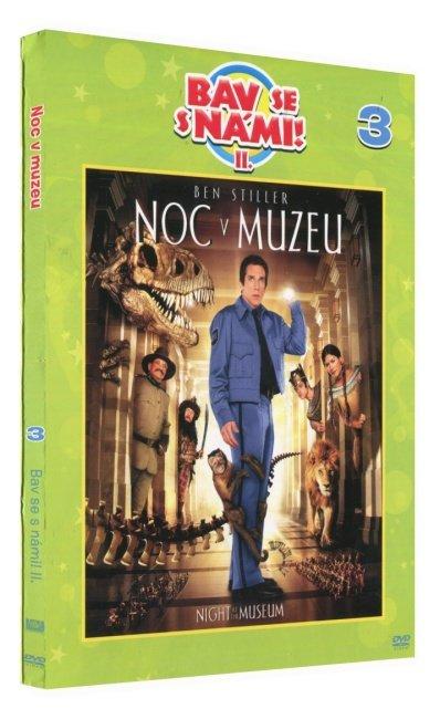 Noc v muzeu (DVD) - edice Bav se s námi! II.
