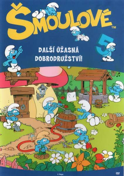 Šmoulové 05 (DVD) (5 dílů)