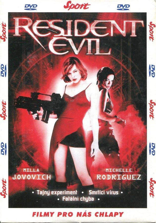 Resident Evil (DVD) (papírový obal)