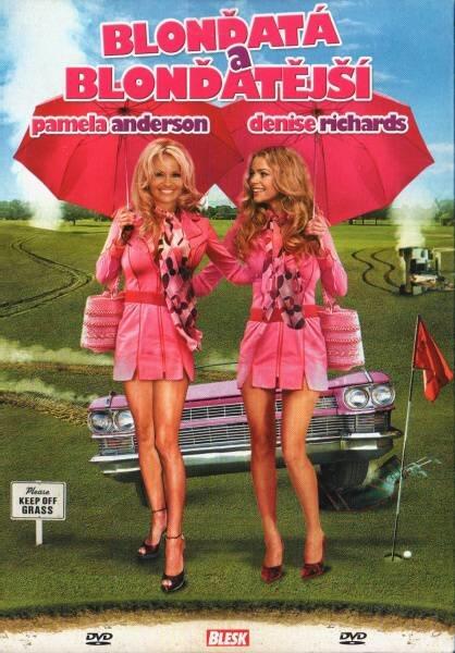 Blonďatá a blonďatější (DVD) (papírový obal)