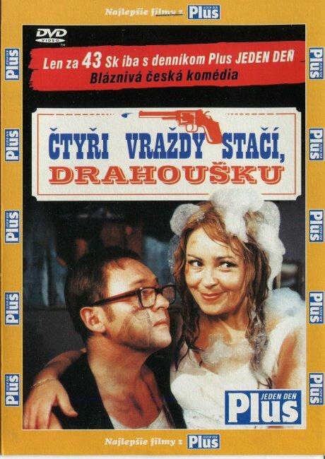 Čtyři vraždy stačí, drahoušku (DVD) (papírový obal)