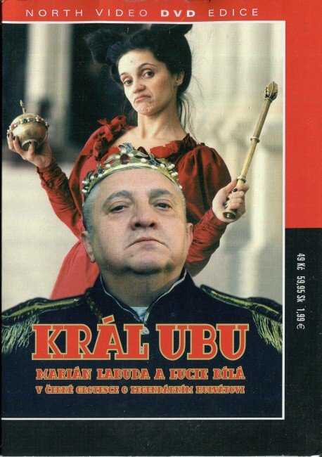 Král Ubu (DVD) (papírový obal)