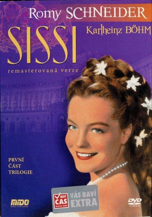 Sissi 1. část (DVD) (papírový obal) - remasterovaná verze