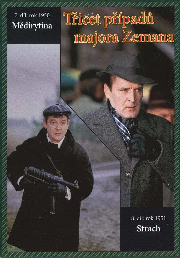 Třicet případů majora Zemana - DVD 04 (7.-8. díl) (papírový obal)