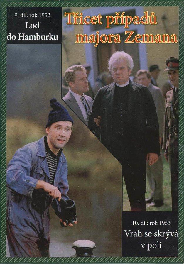 Třicet případů majora Zemana - DVD 05 (9.-10. díl) (papírový obal)