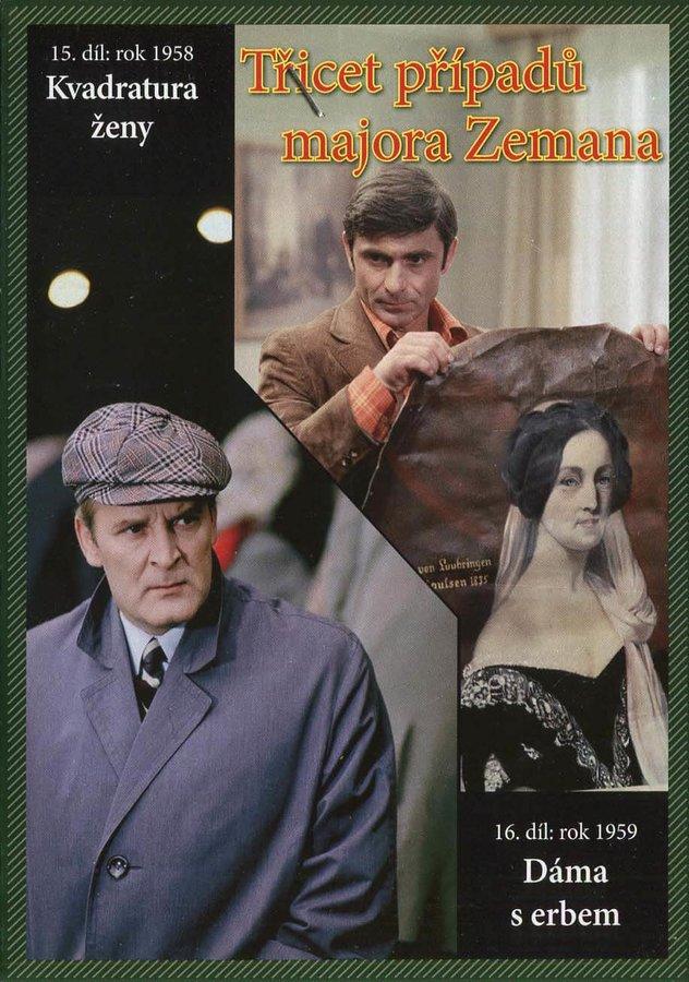 Třicet případů majora Zemana - DVD 08 (15.-16. díl) (papírový obal)