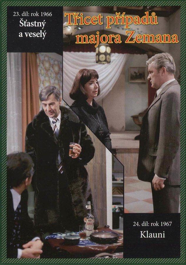 Třicet případů majora Zemana - DVD 12 (23.-24. díl) (papírový obal)