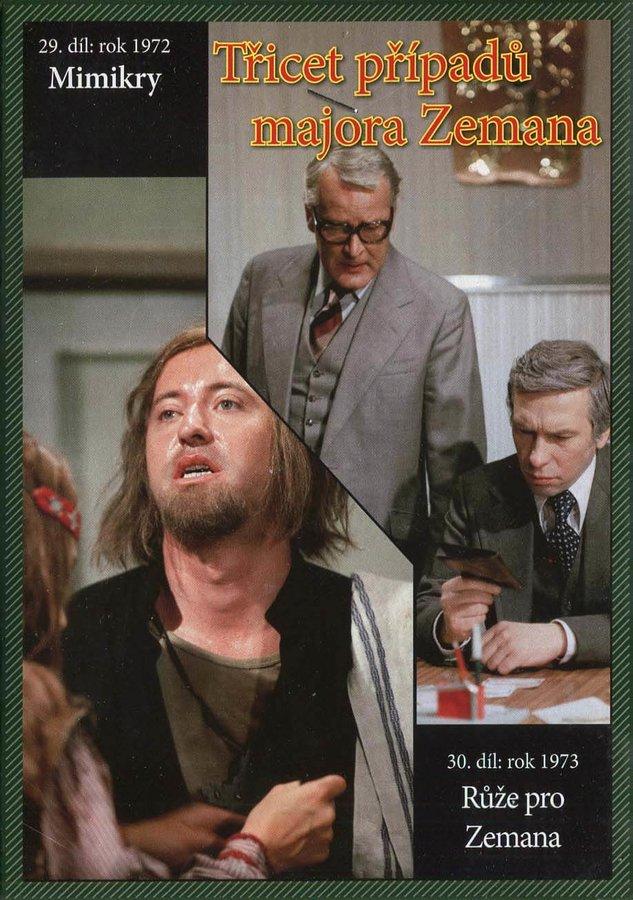 Třicet případů majora Zemana - DVD 15 (29.-30. díl) (papírový obal)