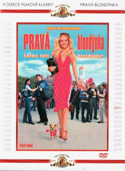 Pravá blondýnka (DVD) - kolekce filmové klasiky