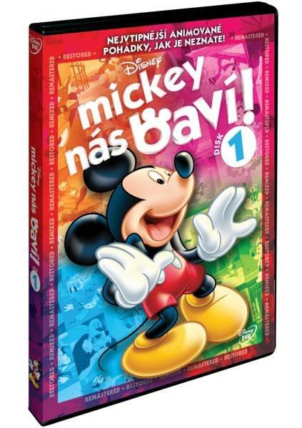 Mickey nás baví! - Disk 1 (DVD)