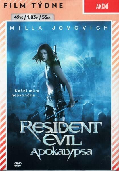 Resident Evil 2: Apokalypsa (DVD) (papírový obal)