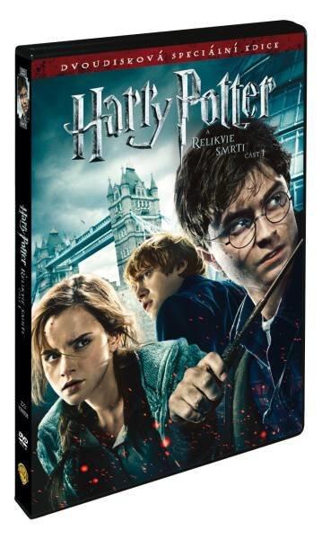 Harry Potter a Relikvie smrti - 1. část - 2xDVD