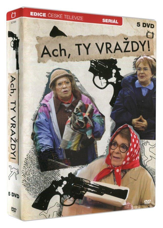 Ach ty vraždy (5 DVD) - Seriál
