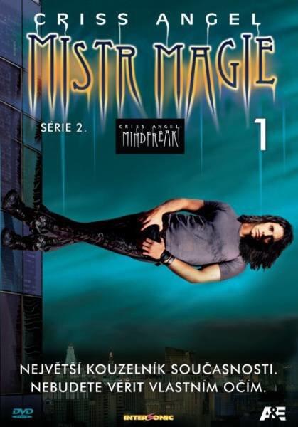 Criss Angel - Mistr magie 2. série - DVD 1 (papírový obal)