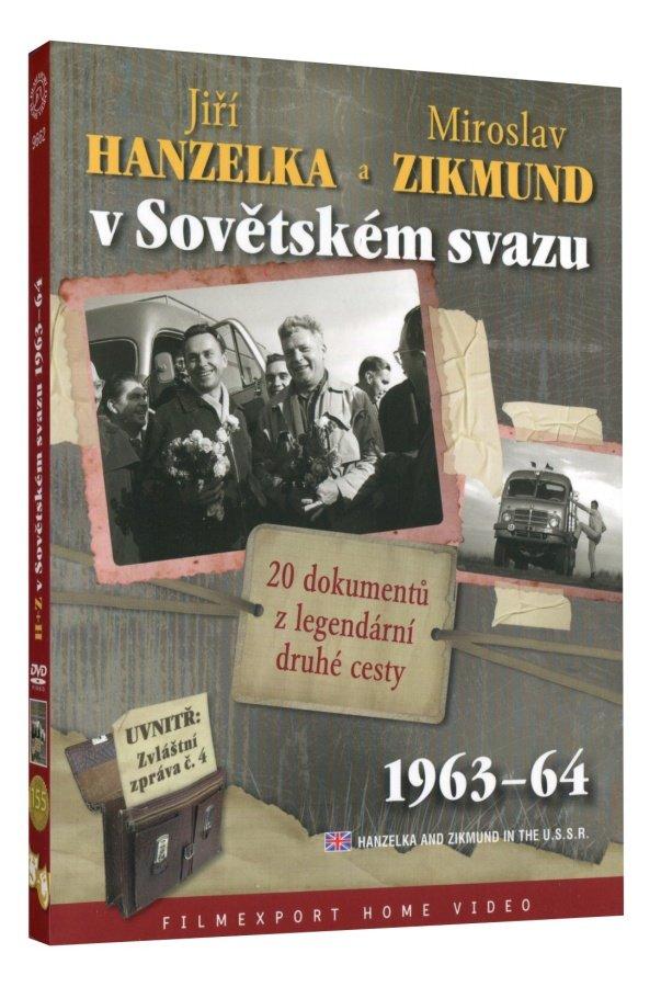 Hanzelka a Zikmund v Sovětském Svazu - 2xDVD