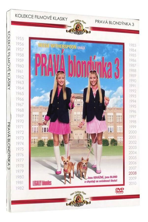 Pravá blondýnka 3 (DVD) - kolekce filmové klasiky