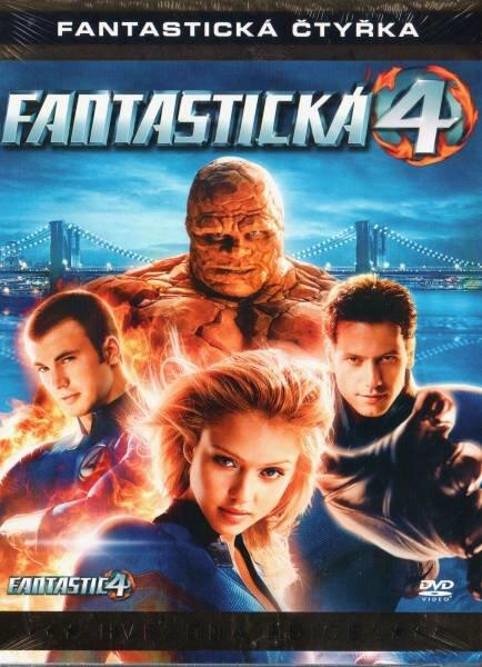 Fantastická čtyřka (DVD) - hvězdná edice - vyřazeno