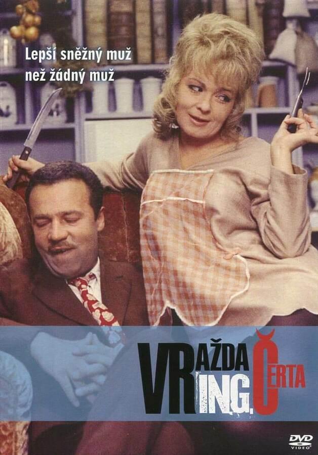 Vražda ing. Čerta (DVD) (papírový obal)