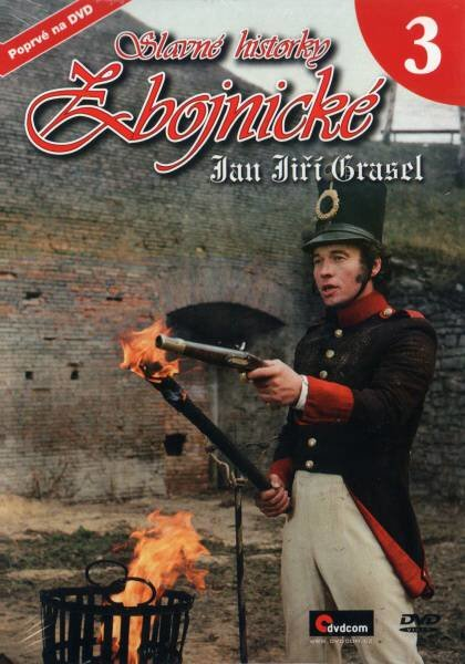 Slavné historky zbojnické 3 - Jan Jiří Grasel (DVD) (papírový obal)