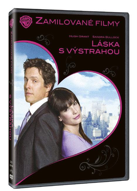 Láska s výstrahou - (DVD) - edice zamilované filmy