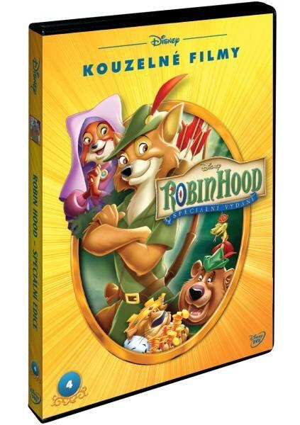 Robin Hood S.E. (animovaný) - (DVD) - edice Disney Kouzelné filmy
