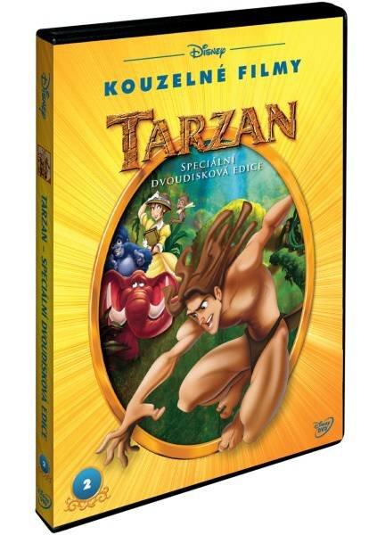 Tarzan S.E. - 2xDVD - (DVD) - edice Disney Kouzelné filmy