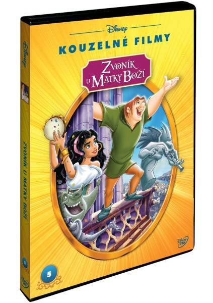 Zvoník u Matky Boží - (DVD) - edice Disney Kouzelné filmy
