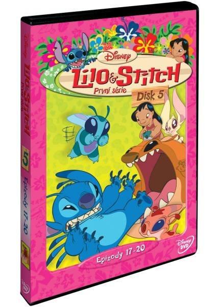 Lilo a Stitch 1. sezóna - Disk 5 (DVD)