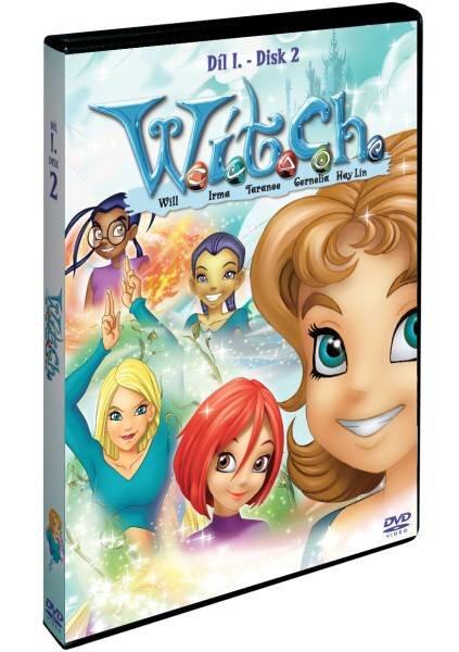 WITCH 1. sezóna - disk 2 (DVD)