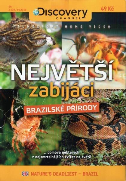 Největší zabijáci brazilské přírody (DVD) (papírový obal)