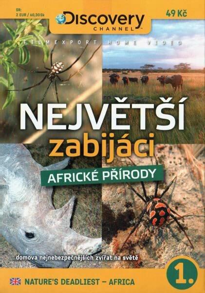 Největší zabijáci africké přírody 1 (DVD) (papírový obal)