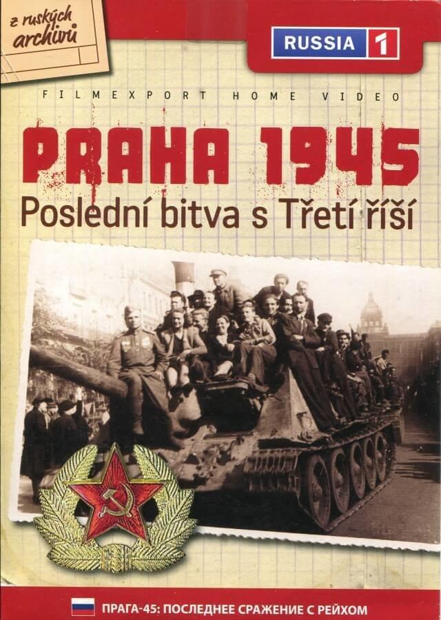 Praha 1945: Poslední bitva s Třetí říší (DVD) (papírový obal)