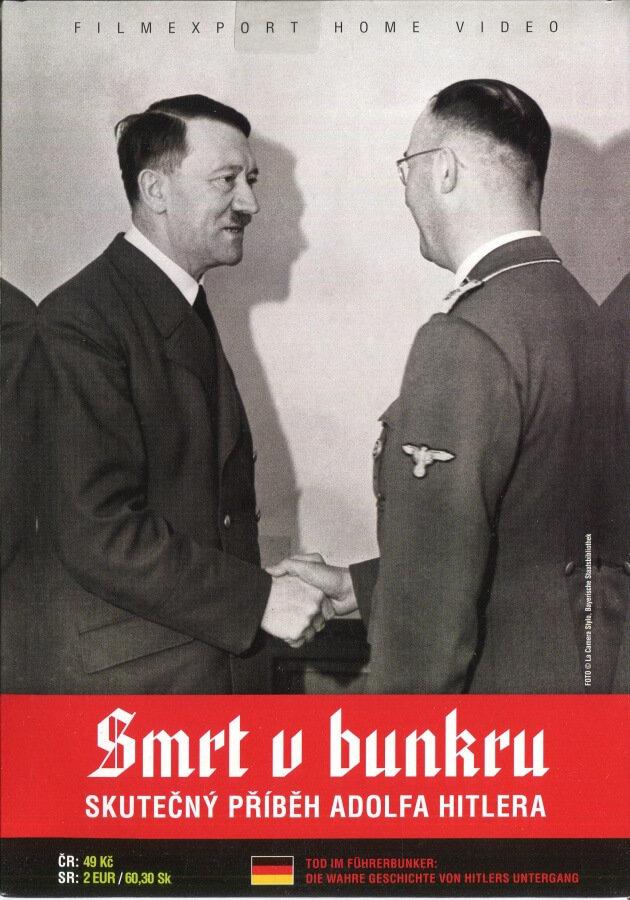 Smrt v bunkru - Skutečný příběh Adolfa Hitlera (DVD) (papírový obal)