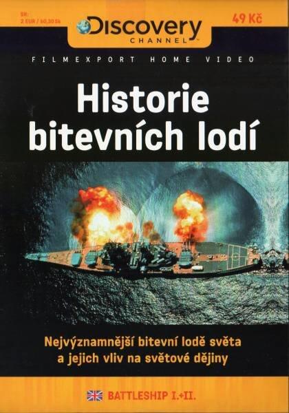 Historie bitevních lodí I.+II. (DVD) (papírový obal)