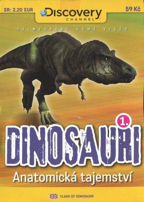 Dinosauři 1 - Anatomická tajemství (DVD) (papírový obal)