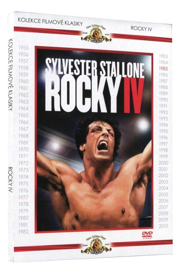 Rocky IV (DVD) - kolekce filmové klasiky