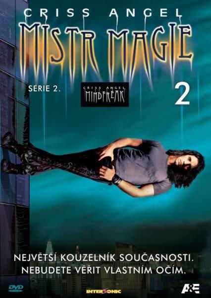 Criss Angel - Mistr magie 2. série - DVD 2 (papírový obal)