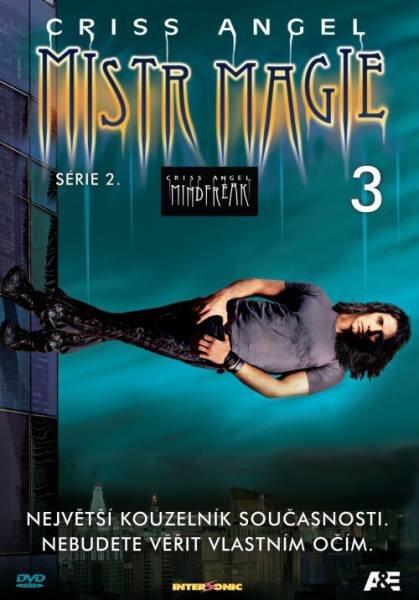 Criss Angel - Mistr magie 2. série - DVD 3 (papírový obal)