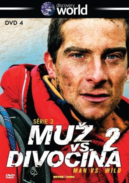 Muž vs. Divočina - 2. série - 4. díl (DVD) (papírový obal)